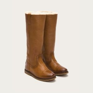 Frye Women's Celia Tall Shearling Sz 8